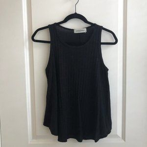 Ribbed Button Up Tank